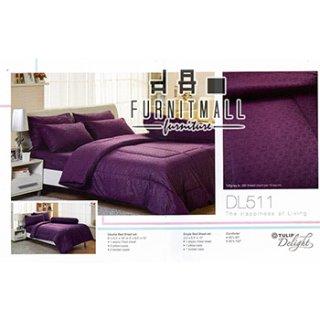 ชุดผ้าปูที่นอน TULIP รุ่น DL511