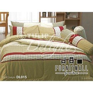 ชุดผ้าปูที่นอน TULIP รุ่น DL015
