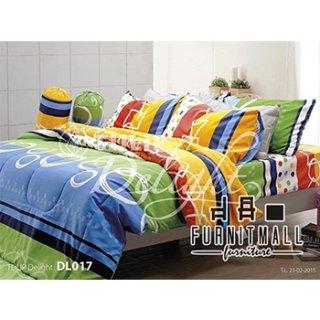 ชุดผ้าปูที่นอน TULIP รุ่น DL017