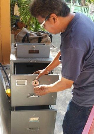 ช่างกุญแจหมู่บ้านสินธานีเชียงราย