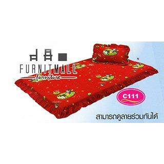 ชุดผ้าปูที่นอน SATIN PICNIC รุ่น C111