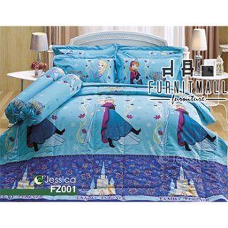 ชุดผ้าปูที่นอน Jessica รุ่น FZ001