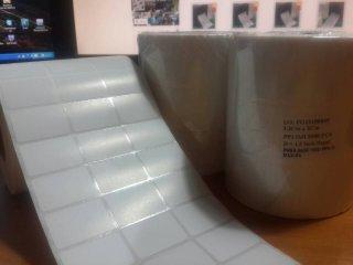 สติ๊กเกอร์บาร์โค๊ด 3.2x2 cm ขนาด 5,000 ดวง