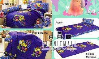 ชุดผ้าปูที่นอน TULIP ลายการ์ตูน รุ่น c