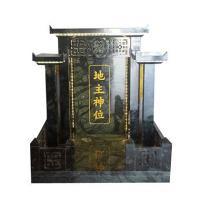ศาลเจ้าที่จีน 27 นิ้ว หินเขียวอิตาลี