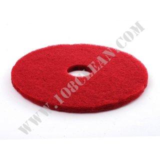 แผ่นขัดล้างสีแดง 3M ใช้กับเครื่องขัดพื้น