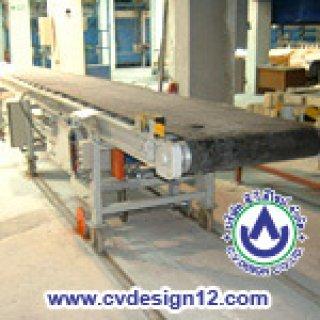 ระบบลำเลียงสายพานยางดำ (Rubber Belt Conveyor)