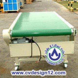 ระบบสายพานลำเลียงแบบ PVC (PVC Belt Conveyor)