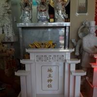 ศาลเจ้าที่จีน 32 นิ้ว หินขาวกรีก