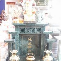 ศาลเจ้าที่จีน 32 นิ้ว หินเขียวอิตาลี