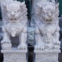 สิงโตปักกิ่ง ขนาด สูง 90 ซม.