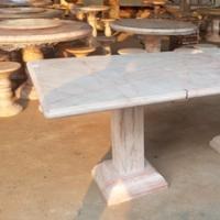 โต๊ะหินอ่อน ทรงสี่เหลี่ยม ขนาด 210x118 ซม.