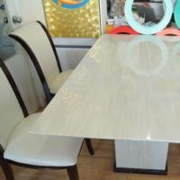 โต๊ะหินอ่อนสี่เหลี่ยม ขนาด 90x190 ซม.
