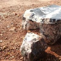 โต๊ะหินธรรมชาติ ขนาด 100x50x67 ซม.