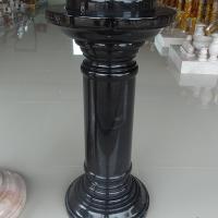 เสาโชว์ สีดำเข้ม ขนาดสูง 60x20 ซม.