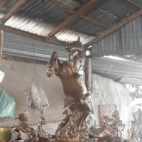 น้ำพุม้าทอง สูง 1.70 เมตร