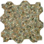 หินโมเสคไซด์เล็ก Ocean Green