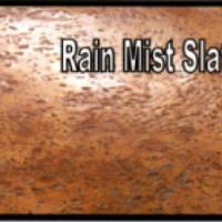 พื้นคอนกรีตพิมพ์ลาย (Rain Mist Slate)