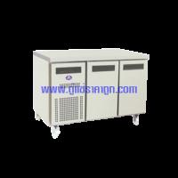ตู้แช่เคาน์เตอร์สแตนเลส 2 ประตู รุ่น SCF-1207-AR Freezer