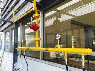 รับติดตั้งสถานที่ใช้แก๊ส Lpg ขนาดถัง 48kg.