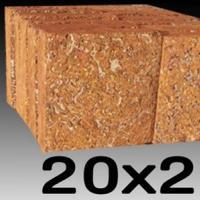 หินศิลาแลงเหลี่ยม ขนาด 20x20 ซม.