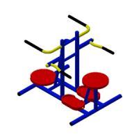 อุปกรณ์บริหารเอว - สะโพกคู่ (แบบนั่งและยืน)