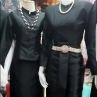 ชุดไทยบรมพิมานสีดำ