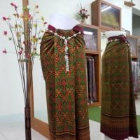 ผ้าไหมทอยกดอก 6 ตะกอ พริกไทย