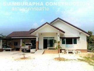 รับออกแบบบ้าน ชลบุรี