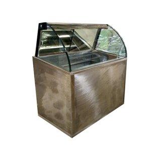 Ice cream Bend Glass Showcase