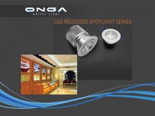 LED Recessed Spotlight Series