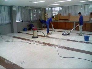 บริษัทรับทำความสะอาดพื้นกระเบื้องยาง