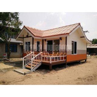 บริการรับสร้างบ้านน็อคดาวน์