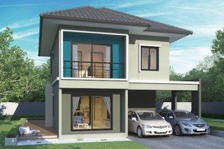 รับสร้างบ้านสองชั้น สุราษฎร์ธานี