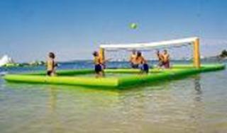อุปกรณ์สวนน้ำ Green Volleyball Court