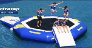 อุปกรณ์สวนน้ำ Blue Trampoline