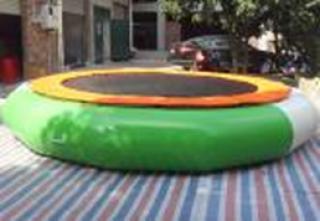 อุปกรณ์สวนน้ำ Green Trampoline