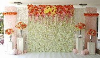 ซุ้มดอกไม้งานแต่งงานราคาถูก