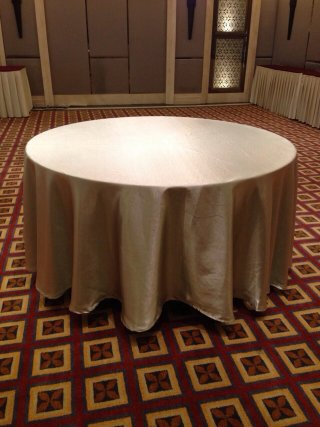 ผ้าปูโต๊ะกลม