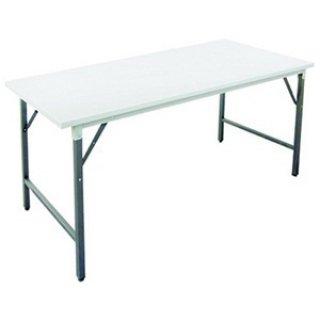 โต๊ะพับอเนกประสงค์ หน้าเหล็กขาว 0.8 มม
