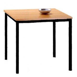โต๊ะอาหารหน้าโฟเมก้าขาว ขาดำหรือขาขาว