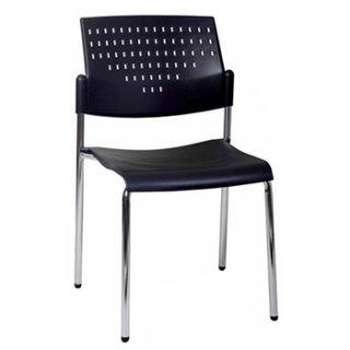 เก้าอี้โพลีรุ่น VC-700 ขาชุบโครเมี่ยม