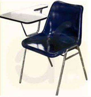 เก้าอี้โพลีเลคเชอร์รุ่น LP-75 ขาชุบโครเมี่ยม