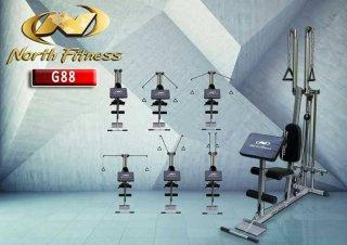 ม้าบริหารปรับระดับ North Fitness รุ่น G88