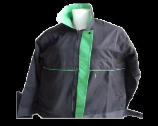 แบบแจ็คเก็ต สีดำเขียว