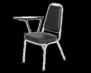 เก้าอี้เลคเชอร์ขาชุปโครเมี่ยม