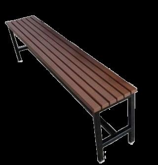 ม้านั่งโรงอาหาร ไม้ระแนง