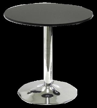 โต๊ะอาหาร ขาแชมเปญชุปโครเมี่ยม หน้าเมลามีนหนา 25 ม