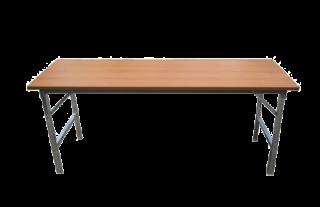 โต๊ะพับหน้าเมลามีนลายไม้หนา 25 มิล