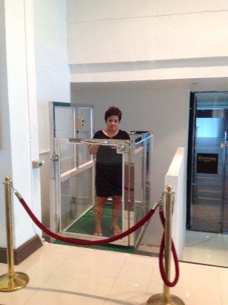 ลิฟท์บ้านครึ่งตัว สำหรับสตรีมีครรภ์